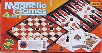 Настольная игра  Шахматы 9841 4 в 1 KHT