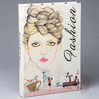"Книга - шкатулка для украшений ""Fashion"", 27*19*3,5см."