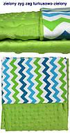 Одеяло-плед Minky+Bawelna 75х 100 см Womar