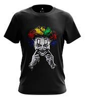 "Мужская футболка с рисунком ""Клоун"""