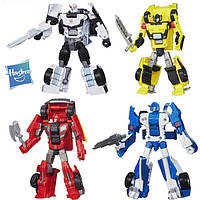 Трансформеры Combiner Wars, Комбайнер Ворс, Ironhide, Mirage, Prowl, Sunstreaker, Hasbro