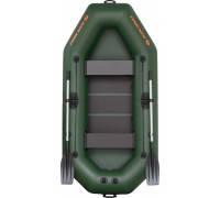 Надувная лодка гребная двухместная Kolibri К-260Т серия Standart (слань-книжка)