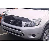 Дефлектор капота ( мухобойка ) Toyota rav4 2006-2010