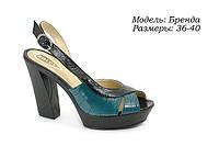 Босоножки на высоком каблуке., фото 1