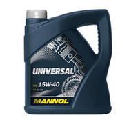 Масло моторное Mannol Universal 15W-40 5л
