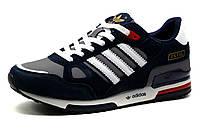 Кроссовки Adidas ZX750 мужские, серо-синие, р.  44, фото 1