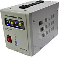 ИБП Logicpower LPY-PSW-800+ (560Вт), для котла, чистая синусоида, внешняя АКБ