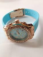 Часы женские HUBLOT с силиконовым ремешком. (Арт. 78344)