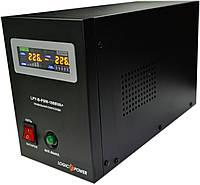 ИБП Logicpower LPY-B-PSW-1000+ (700Вт), для котла, чистая синусоида, внешняя АКБ