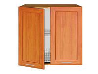 Шкаф с сушкой для посуды NKGC-80/72L/P Nika Ekran MDF BRW вишня золотая