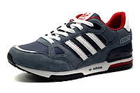 Кроссовки Adidas ZX750 мужские, сине-серые, фото 1