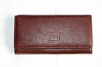 Стильный кожаный женский кошелек CANTLOR