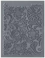 "Коврик Clay&Craft реплика LisaPavelka ""Флорал"" Tooled Leather,с глубокой текстурой"