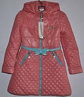 Куртка плащ демисезонный для девочки рост 128см
