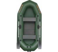 Надувная лодка гребная двухместная Kolibri K-270T серия Profi (слань-книжка)
