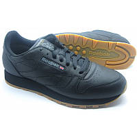 Кроссовки REEBOK Classic Black Leather 49800 Оригинал