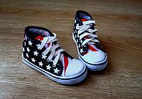 Детская обувь Кеды американский стиль 19-22