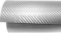 Карбоновая пленка 3D серая оттенок стальной для Авто Стайлинг 1м погонный метр, ширина пленки 1м.27см.
