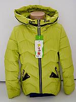 Детская весенняя куртка на девочку 5 - 9 лет