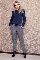 Женские модные качественные брюки в клетку