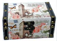 Сундук для вещей Нью Йорк в стиле Прованс набор 2 шт