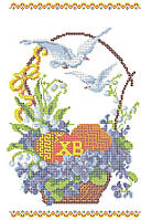 схема для вышивания. рушник Пасхальний. заготовка под бисер