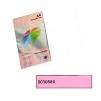 Бумага цветная М-Стандарт A4 пастельная розовая IT170  100листов 163157