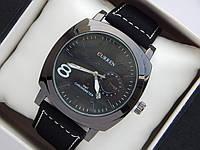 Мужские кварцевые наручные часы Curren GMT Chronometer