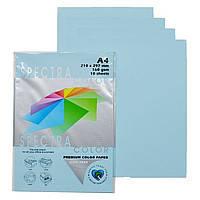 Бумага цветная М-Стандарт A4 пастельная синяя IT180  100листов 163155
