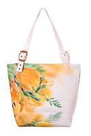 Женская сумка-трапеция Тюльпаны