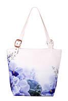 Женская текстильная сумка-трапеция Весна