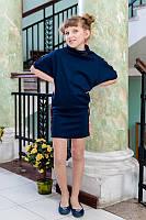 Модное трикотажное платье для девочки   Весна 2016