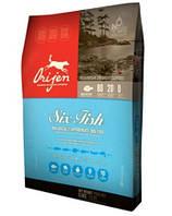 Orijen 6 fresh fish dog 13 кг