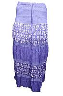 Юбка женская длинная 3 цвета