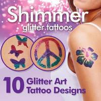Блеск татуировки Shimmer Glitter Tattoos (Шиммер Глиттер Тату), фото 1