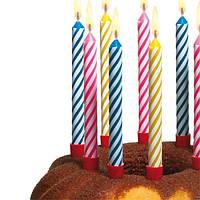 Магические, незадуваемые, негаснущие свечи для торта