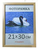 Фоторамка пластиковая А4, рамка для фото 1611-96