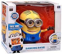Интерактивная игрушка миньон Дэйв  Гадкий Я