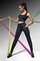 Леггинсы для фитнеса с широким поясом  Bas Bleu Aurora