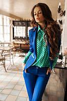 Костюм с  брюками и пиджаком  (4 цвета) 01239