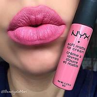 Матовая крем-помада NYX Soft Matte Lip Cream 11 Milan