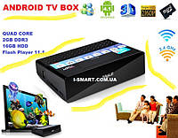 MELE 2013г Quad Core Android Box TV ddr3- 2GB hdd- 16GB HDMI USB LAN Optic +пульт