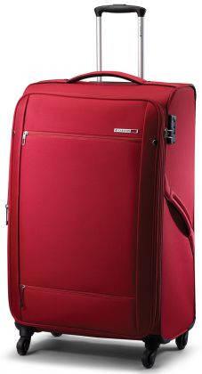 Чемодан на четырех колесах большой 92 литров CARLTON (Карлтон)  072J478 красный; черный; синий