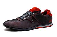 Туфли спортивные мужские GS, серо-красные, р. 40 41 42 44 45, фото 1
