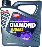 Синтетическое моторное масло TEBOIL DIAMOND DIESEL 5W40 ✔ емкость 4л.