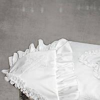 Крыжма  для крещения  от Miminobaby Винтажная белая