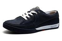 Мужские спортивные туфли Levi's Originals,  кожа, синий, фото 1