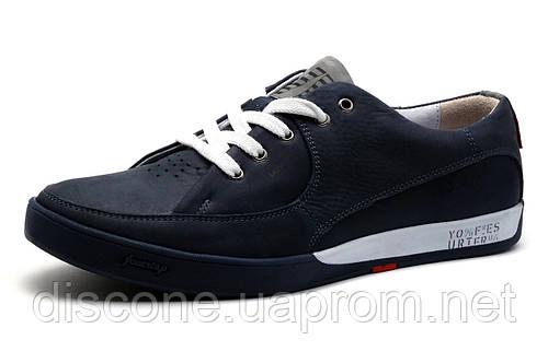 Мужские спортивные туфли Levi's Originals,  кожа, синий