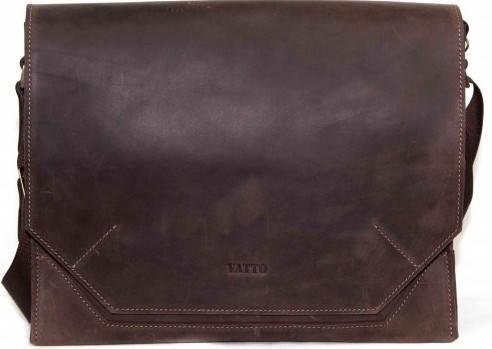 Оригинальная мужская сумка с отделением для планшета VATTO MK21Kr450, коричневый