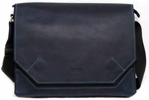 Вместительная мужская сумка с отделением для планшета VATTO MK21Kr600, синий